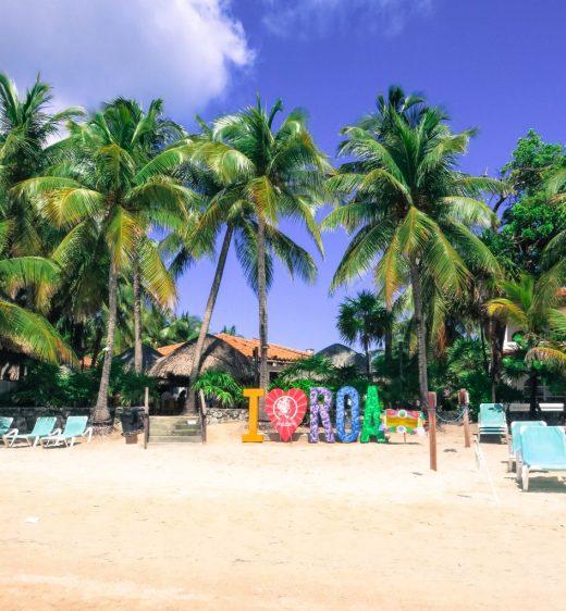 West bay beach, Isla Roatan Honduras