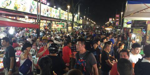 Jalan Alor Street Food, Kuala Lumpur
