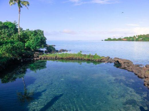 Samoa rock pools