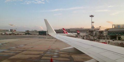 Flying Qantas from Singapore to Perth