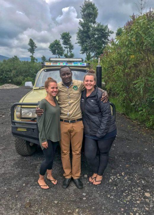 Uganda Gorilla Trek Africa driver William