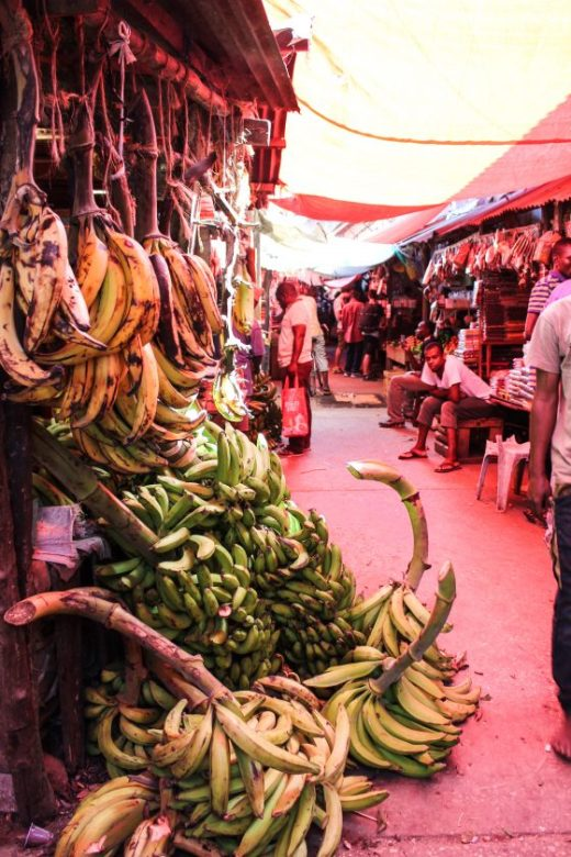 Darajani Markets Stone Town, Zanzibar
