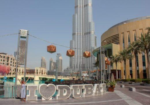 mall of dubai, burj khalifa