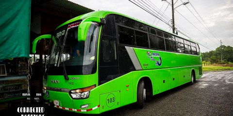 Crossing Countries | Bus from Tamarindo to Panama City