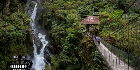 Cycling around Baños: Ruta de Las Cascadas