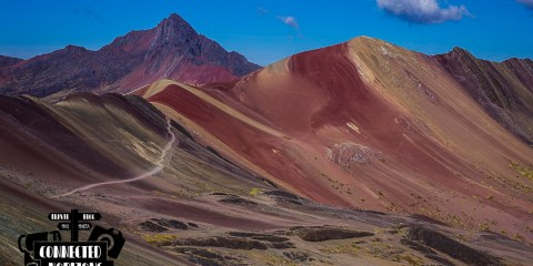 Self-guided hike to Rainbow Mountain: An Easy Day Trip