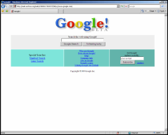 Google Antigo