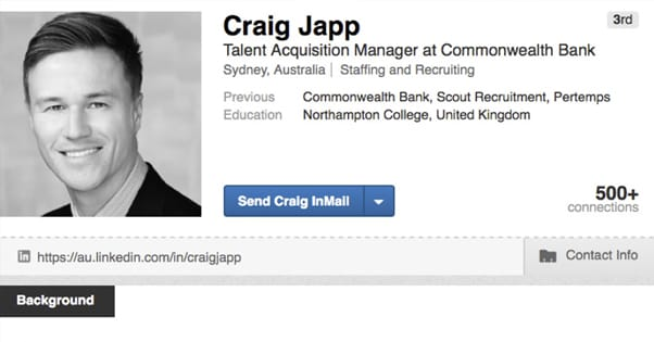 Example Complete Profile