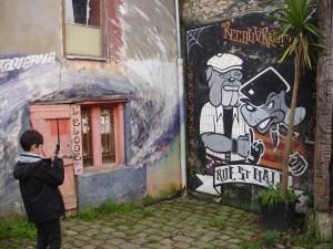 L'éloge enft prenant photo tag Reu St-Malo 27.12.16