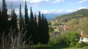 Mamousia, village gre