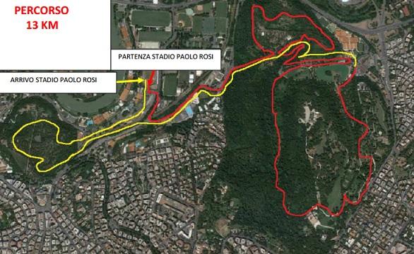 percorso tre ville run