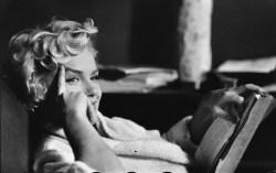 USA. New York. 1956. American actress Marilyn MONROE.