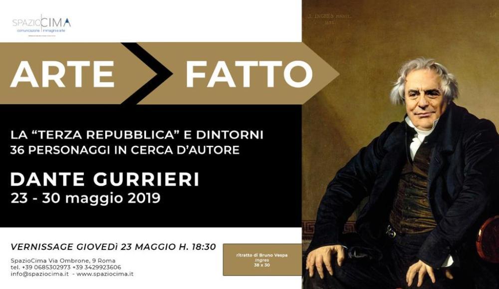 Locandina Mostra Dante Gurrieri fotomontaggio Bruno Vespa.jpg