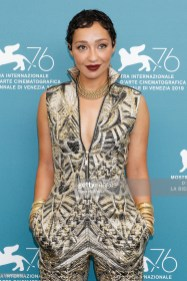 Ruth Negga at the photo call for 'Ad Astra' during the 76st Venice Film Festival at the Sala Grande on August 29, 2019 in Venice, Italy. (Photo by: P. Lehman) (Photo credit should read P. Lehman / Barcroft Media via Getty Images)