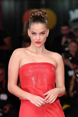 "VENICE, ITALY - AUGUST 30: Barbara Palvin walks the red carpet ahead of the ""Seberg"" screening during the 76th Venice Film Festival at Sala Grande on August 30, 2019 in Venice, Italy. (Photo by Daniele Venturelli/Daniele Venturelli/WireImage, )"