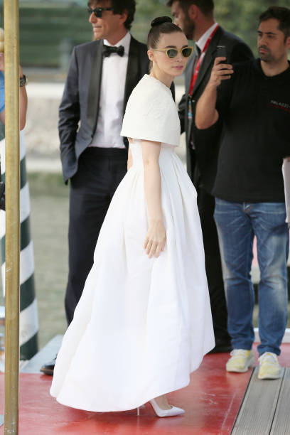 VENICE, ITALY - AUGUST 31: Rooney Mara is seen arriving at the 76th Venice Film Festival on August 31, 2019 in Venice, Italy. (Photo by Ernesto Ruscio/GC Images,)