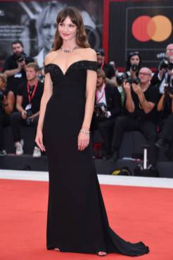 """VENICE, ITALY - SEPTEMBER 02: Annabelle Belmondo walks the red carpet ahead of the """"Martin Eden"""" screening during the 76th Venice Film Festival at Sala Grande on September 02, 2019 in Venice, Italy. (Photo by Stefania D'Alessandro/WireImage,)"""