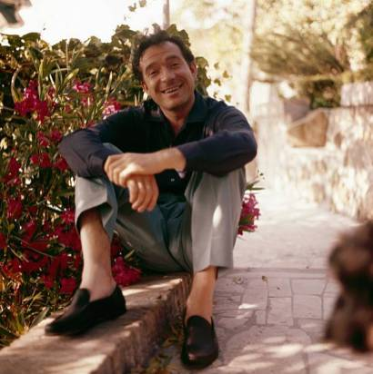 ITALY – CIRCA 1960: Italian Actor Ugo Tognazzi In Italy, Circa 1960 . (Photo by Giancarlo BOTTI/Gamma-Rapho via Getty Images)