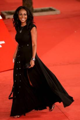 """ROME, ITALY - OCTOBER 15: Ira Fronten attends the red carpet of the movie """"Soul"""" during the 15th Rome Film Festival on October 15, 2020 in Rome, Italy. (Photo by Franco Origlia/Getty Images)"""
