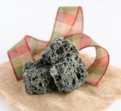 Soft coal is a typical spanish candy of Christmas date that visually resembles coal. It is black and rocky in appearance, of fairly hard consistency and with a dark gray color. It has a high sugar content. It is usually given on January 6 to children who have not behaved well during the year.