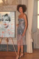 top model Aline Marques