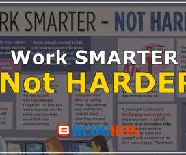 work smarter - not harder