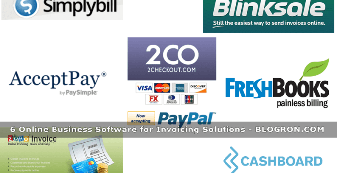 6 Online Business Software for Invoicing Solutions