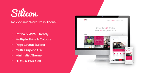 Silicon - Responsive WordPress Theme