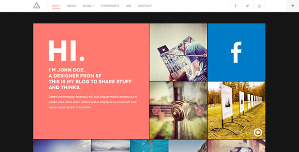 WP blog theme