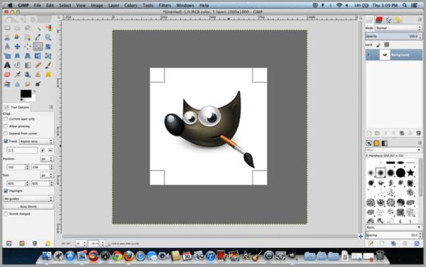 Gimp is a free image editng tools