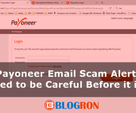 Payoneer Email Scam Alert, You Need to be Careful Before it is Late 1