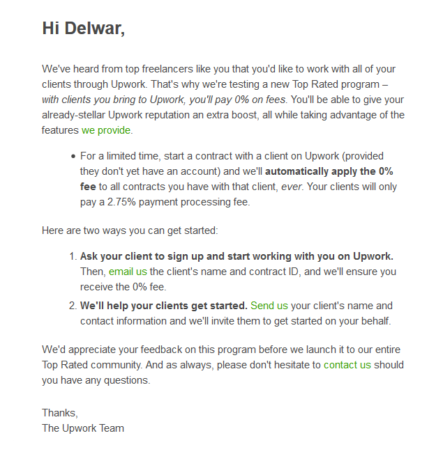 Another Great Year as a Top Rated Professional on Upwork 3