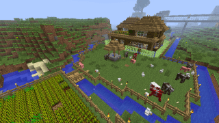 The Wife's House in Minecraft