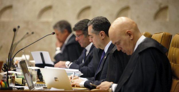 Ministros do STF durante sessão plenária. Foto: Rosinei Coutinho/Arquivo STF