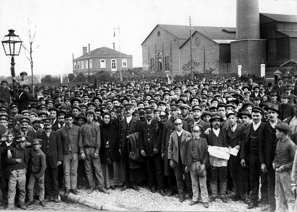 Resultado de imagem para imagens greve geral de 1917 em curitiba