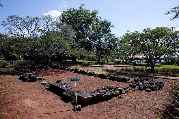 Ruinas de la iglesia de La Isabela