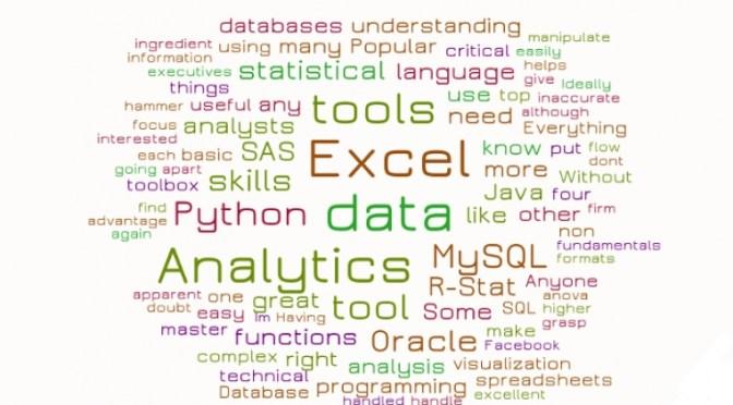 Top 4 Skillsets For Data Analytics
