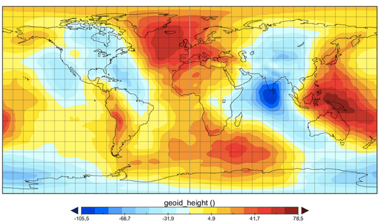 The Missing Mass What Is Causing A Geoid Low In The