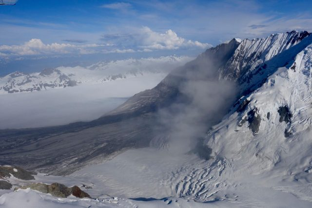 Lamplugh Glacier rock avalanche