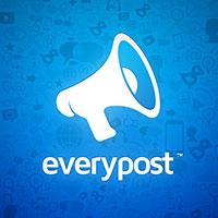 Everypost permite publicar en todas las redes sociales simultáneamente.