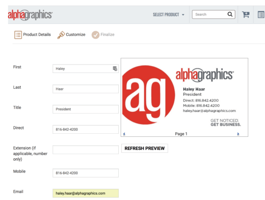 Web-to-Print with agOnline-2