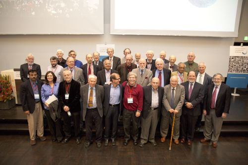 Participants in the Heidelberg Laureate Forum at the opening ceremony. Image copyright Bernhard Kreutzer. Used with permission.