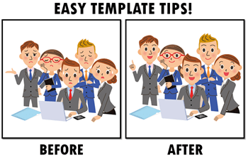 e-learning templates tips