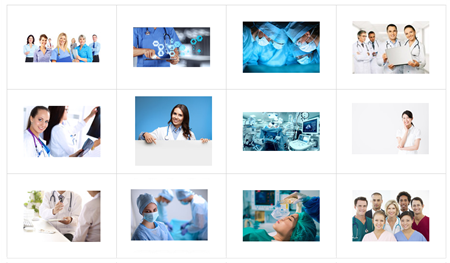 medical e-learning characters