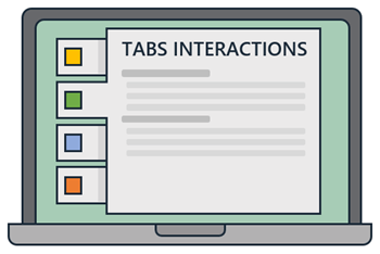 tabs interaction post