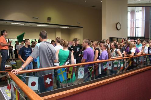 Cedarville Univ Library Orientation 2014