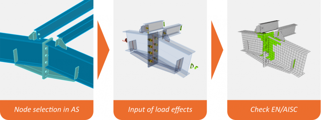 IDEA-Steel Connection Design