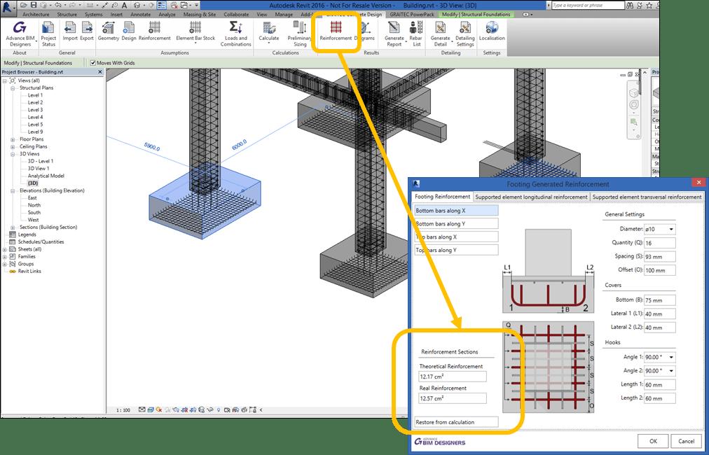 Graitec's reinforced concrete solution