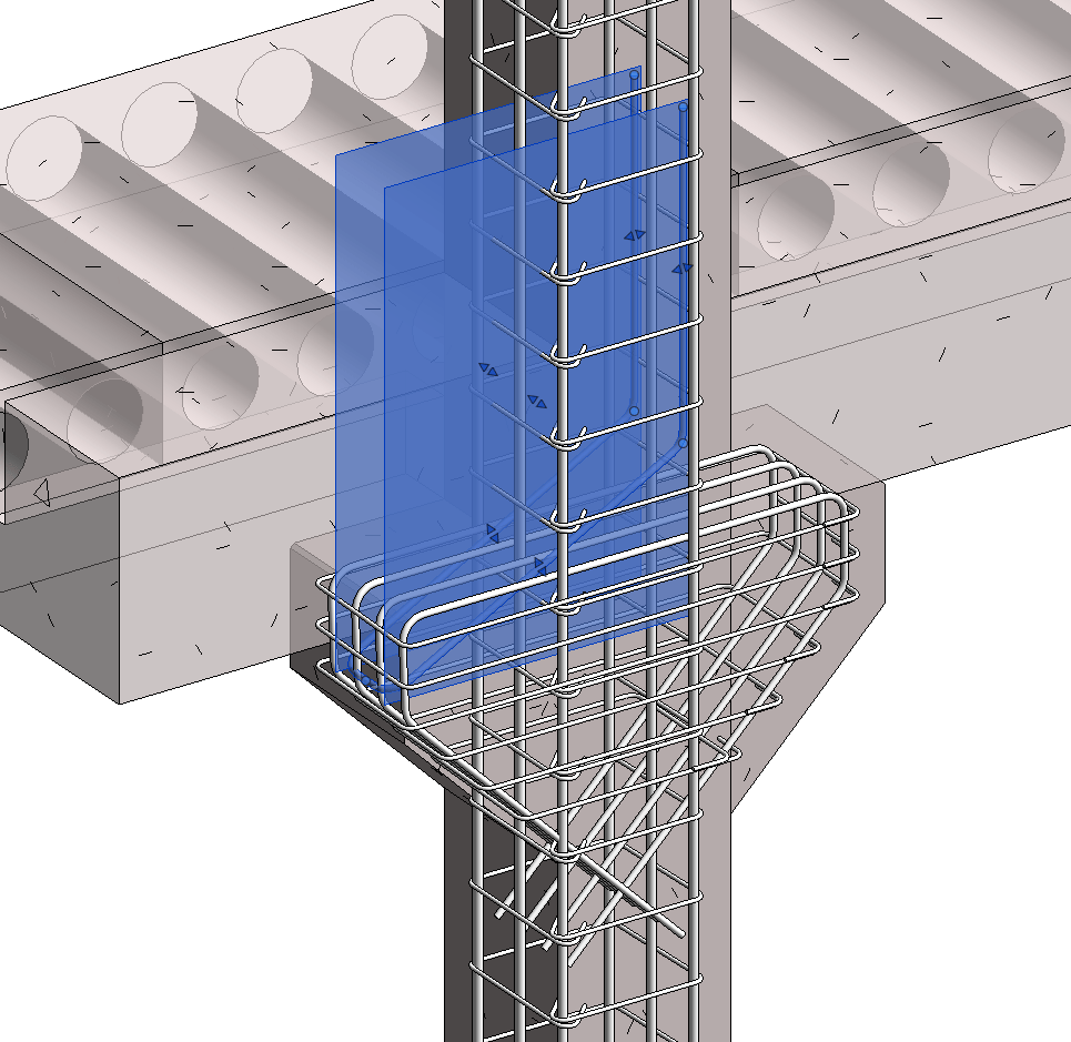 Precast Column with Corbels in Revit 04