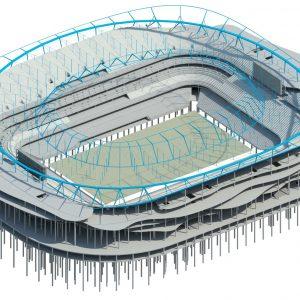 Full Stadium Rendering